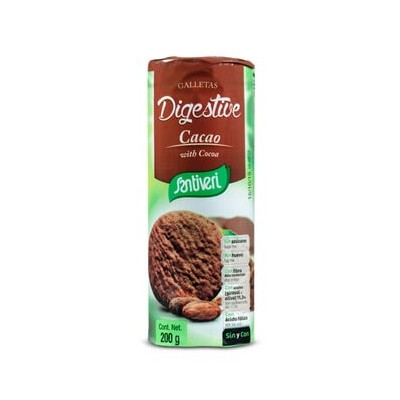Galletas Digestive Cacao Santiveri Santiveri  0.10020858 Ayudas aparato Digestivo salud.bio