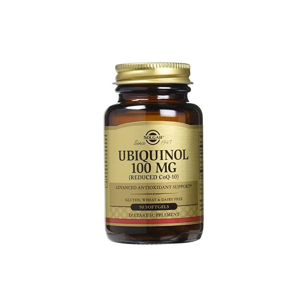 Ubiquinol (Q10) maxima absorción de Solgar SOLGAR 162641 Inicio salud.bio
