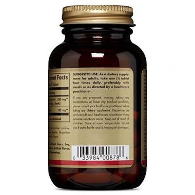 Canela con Acido Alfa Lipoico (alpha lipoic acid) 60 Comprimidos de SOLGAR SOLGAR  Ayuda Glucemia y Diabetes salud.bio