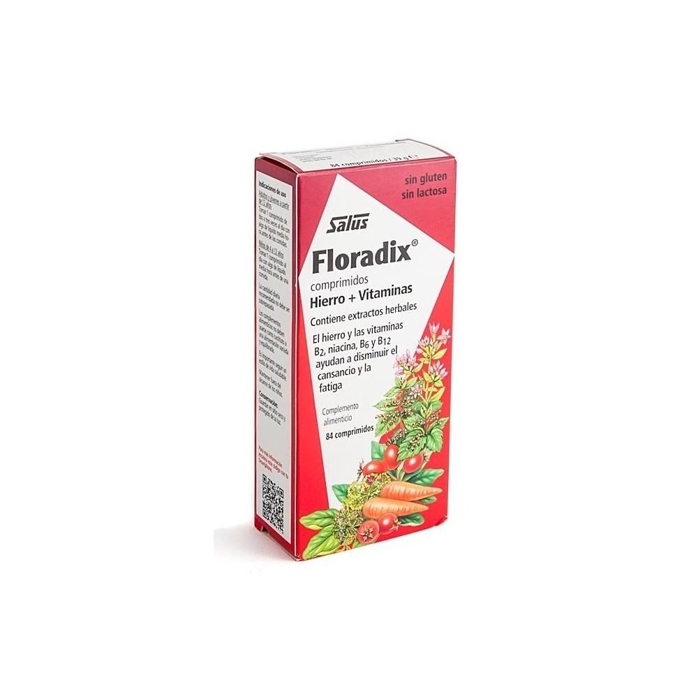 Salus Floradix Hierro + Vitaminas  en Comprimidos Salus Floradix España, S. L. 0140007182 Inicio salud.bio