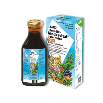 Salus Floradix-Kindervital fruity para niños Salus Floradix España, S. L.  Inicio salud.bio