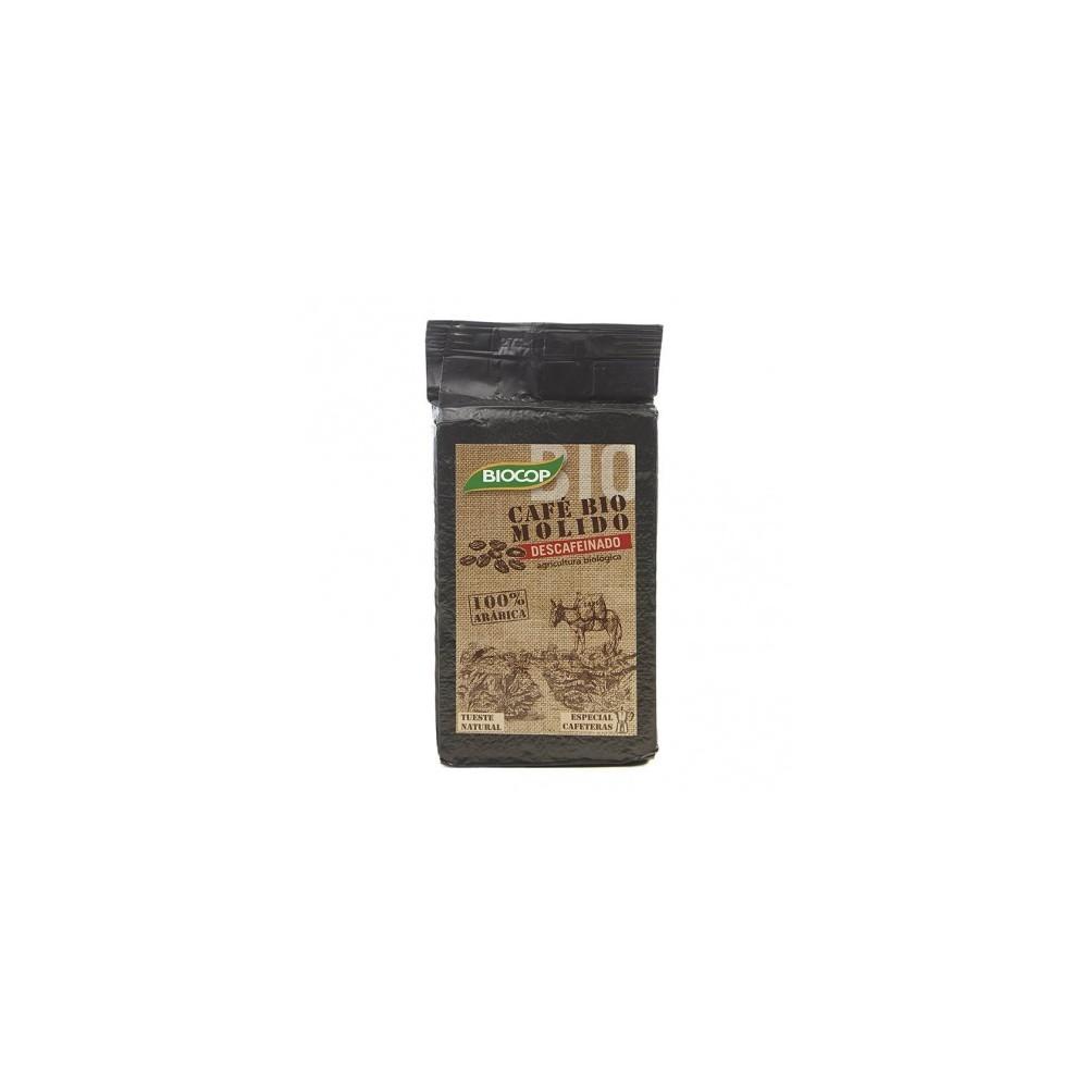 Café molido 100% Arábica descafeinado 250 g de Biocop Biocop  0070016896 Inicio salud.bio