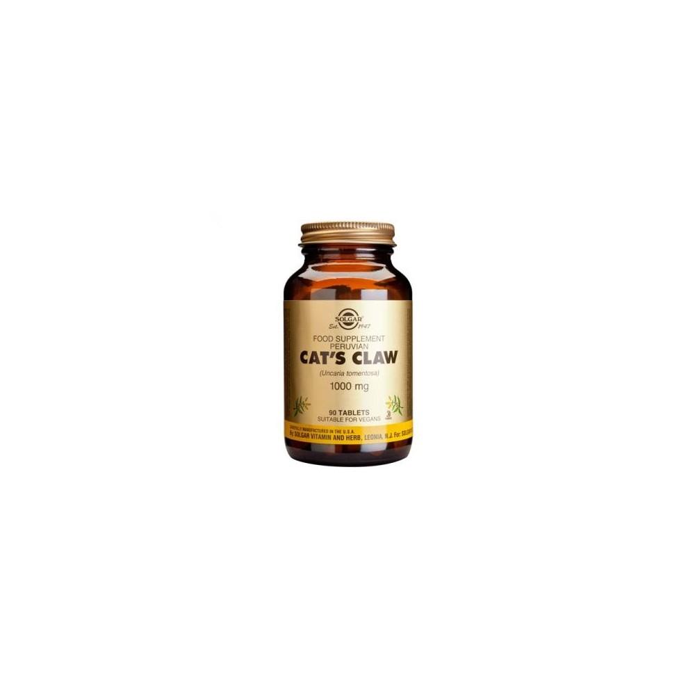 Uña de gato 1000 mg de Solgar SOLGAR  Inicio salud.bio
