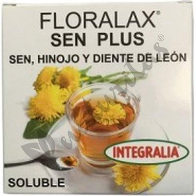 Floralax Sen Plus soluble - Caja de 15 sobres de Integralia
