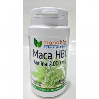 MACA HBC 90 CAPSULAS 5000mg - MANABIOS Manabios 111546 Inicio salud.bio