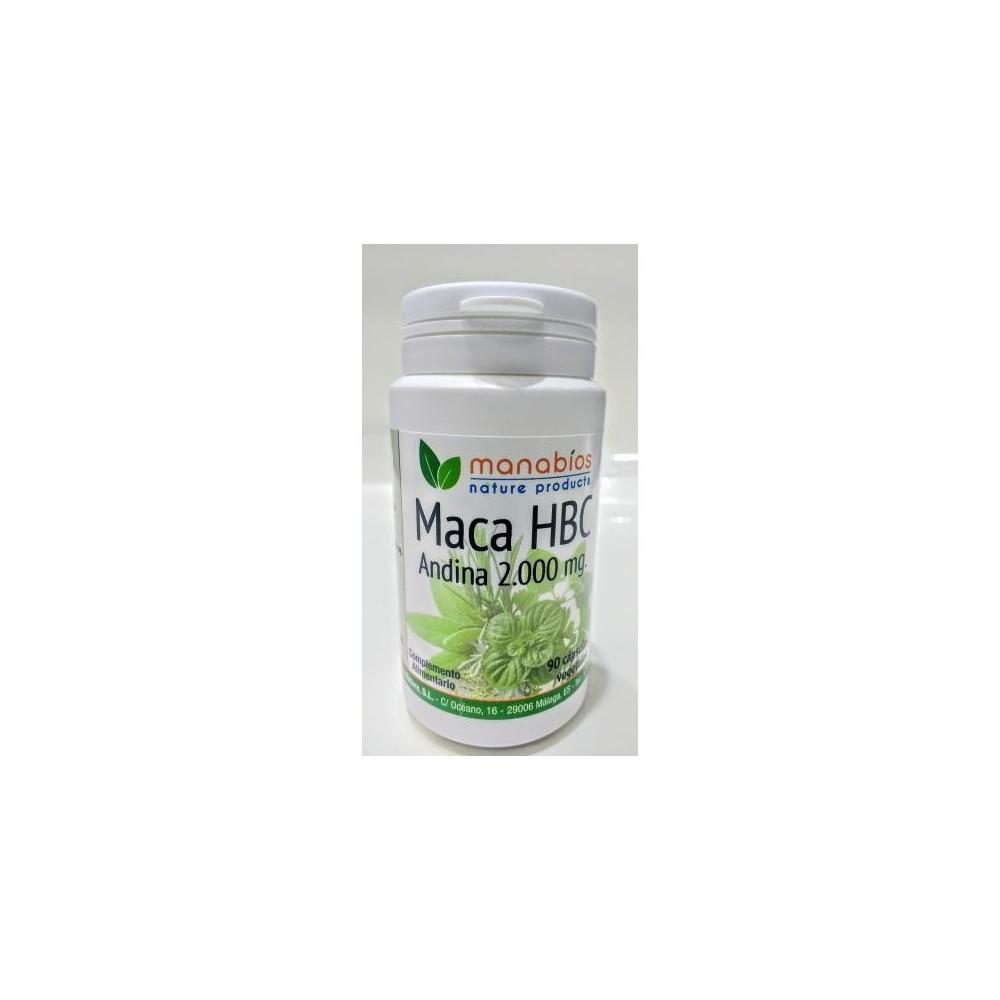 MACA HBC 90 CAPSULAS 5000mg de MANABIOS Manabios 111546 Salud Sexual y Fertilidad salud.bio