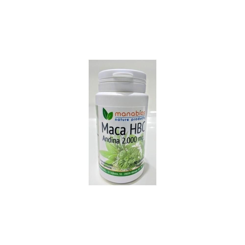 MACA HBC 90 CAPSULAS 5000mg - MANABIOS