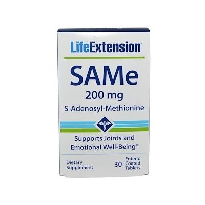 SAMe 30 comprimidos 200 mg de Life Extension