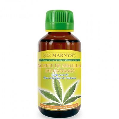 Aceite Puro de Semilla de Cáñamo (Cannabis sativa) 125ml Alimenticio de MARNYS® Marnys AP106 Aceites naturales salud.bio