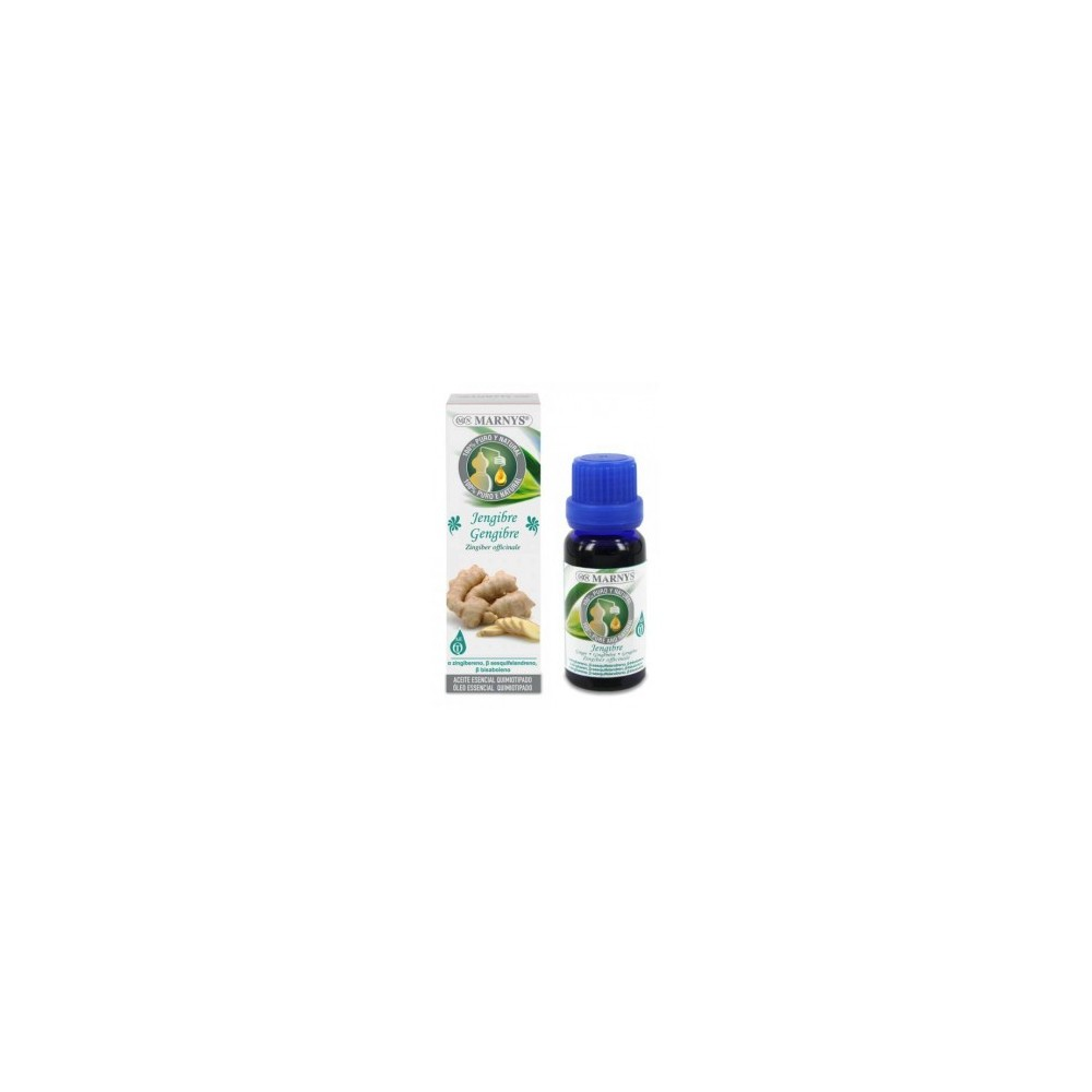 Aceite Esencial de Jengibre Marnys 15 ml