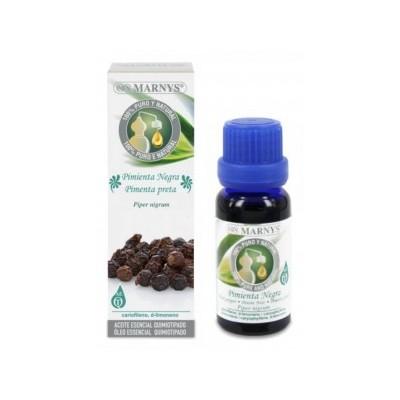 Aceite esencial de Pimienta Negra Marnys 15 ml