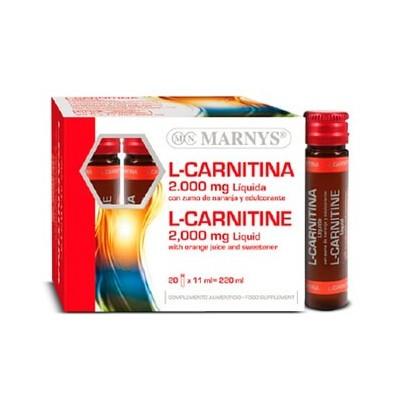 L-Carnitina 2000 mg Líquida de Marnys