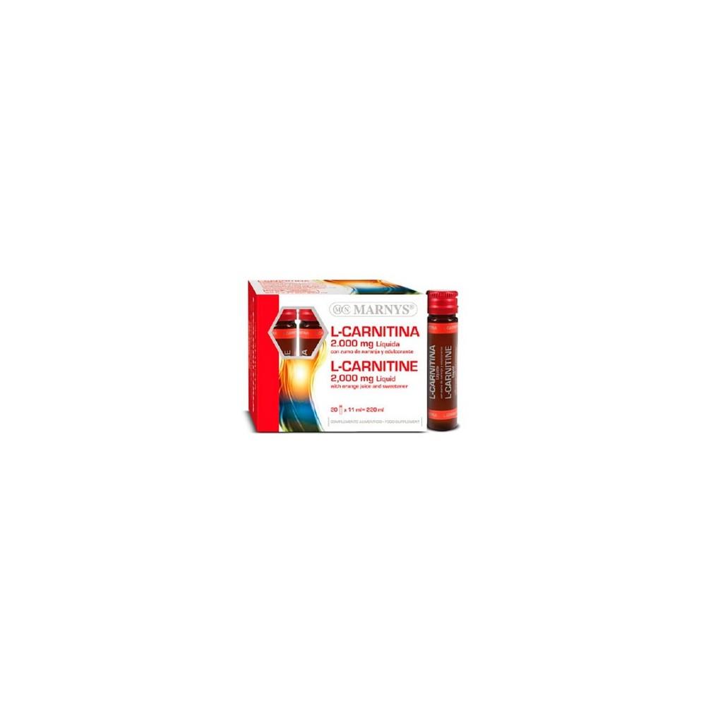 L-Carnitina 2000 mg Líquida de Marnys Marnys MNV800 Inicio salud.bio