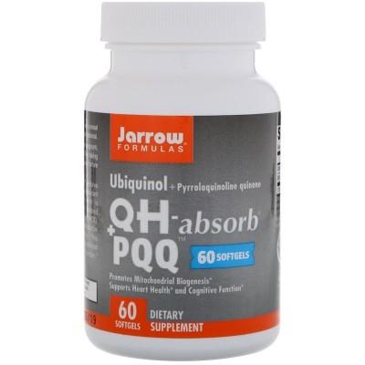 Ubiquinol (QH) + PQQ, cápsulas blandas de Jarrow Formulas