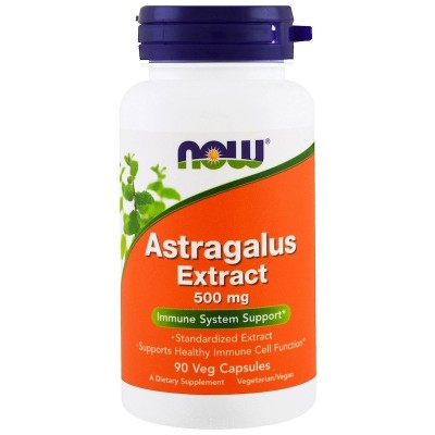 Extracto de astrágalo, 500 mg, 90 cápsulas de Now Foods