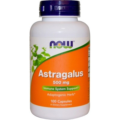 Astrágalo 100 Cápsulas 500mg de Now Foods