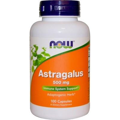 Astragalus 100 Cápsulas 500mg de Now Foods now suplementos NOW-04605 Sistema inmunitario salud.bio