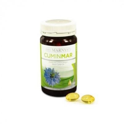 Aceite Puro de comino negro en perlas Cuminmar de Marnys Marnys  Ayudas aparato Digestivo salud.bio