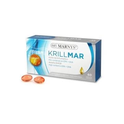 Krillmar de Marnys 60 perlas Marnys MN476 Ayudas niveles Colesterol y Trigliceridos salud.bio