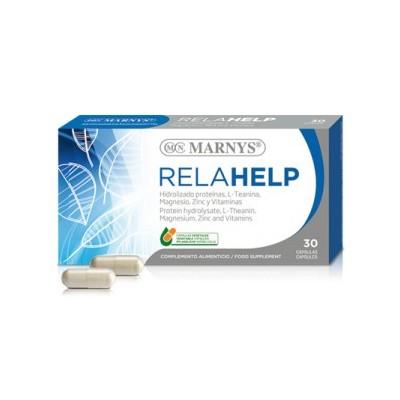 Relahelp 30 cápsulas de Marnys Marnys MN326 Estados emocionales, ansiedad, estrés, depresión, relax salud.bio