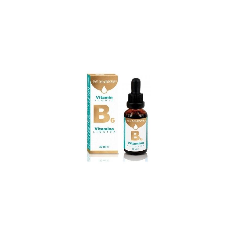 Vitamina B6 líquida de Marnys