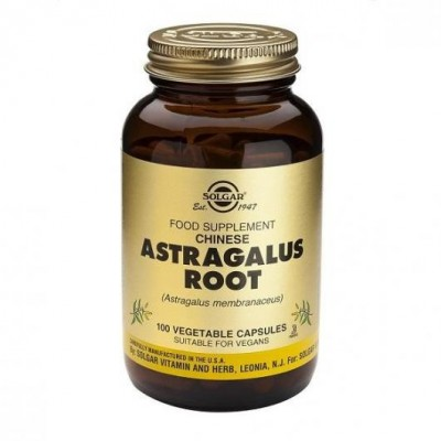Astragalus Root (Astralagulus membranaceus) chinese 100 Cápsulas Solgar