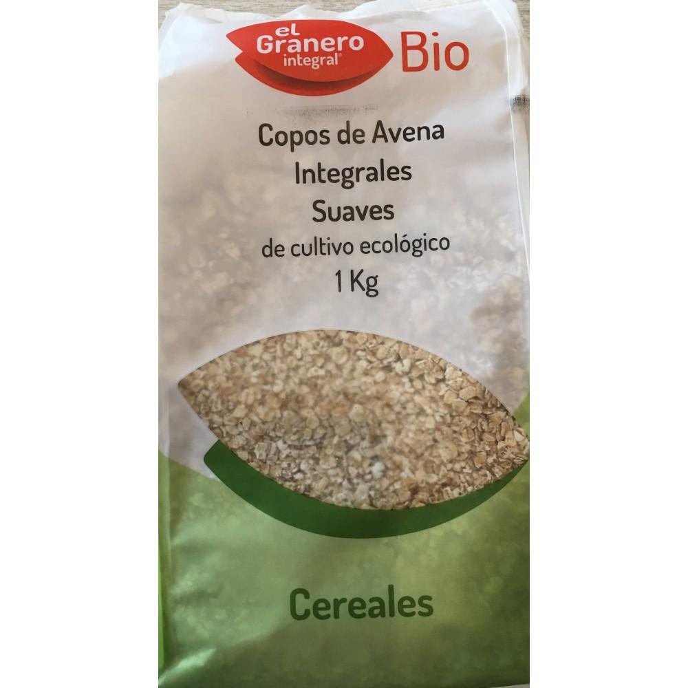 Copos de Avena Suaves BIO 1Kg el Granero El Granero  Alimentación salud.bio
