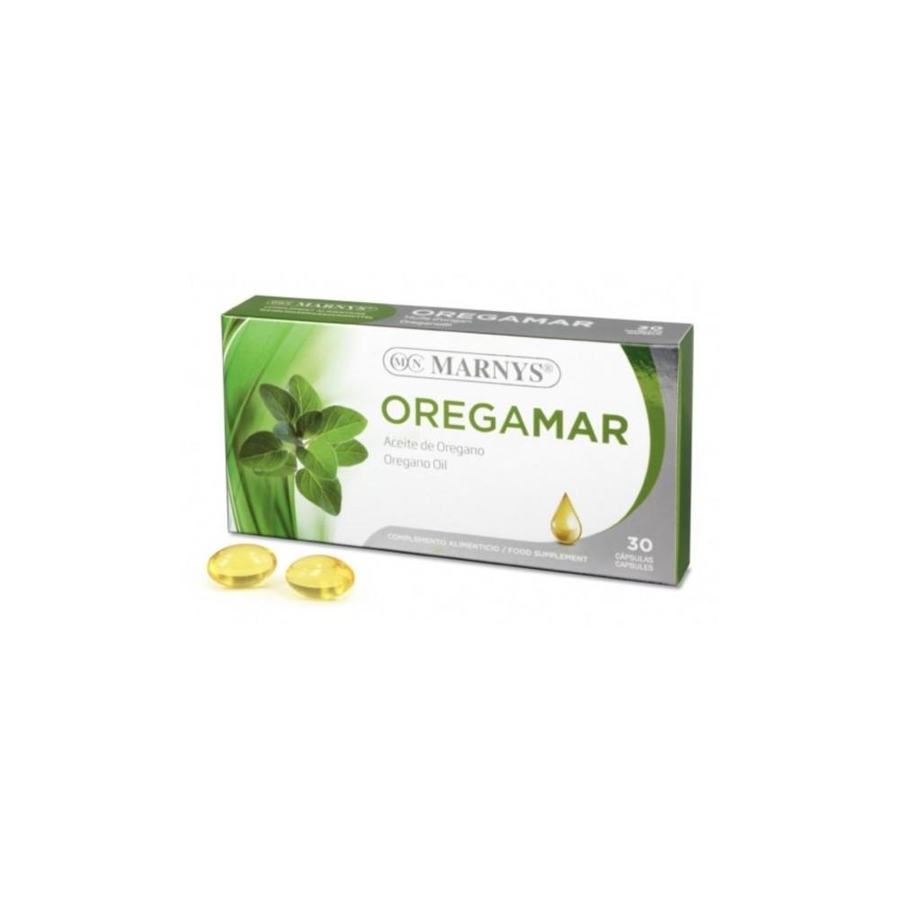 Oregamar Aceite de Orégano 30 Perlas de Marnys Marnys  Inicio salud.bio