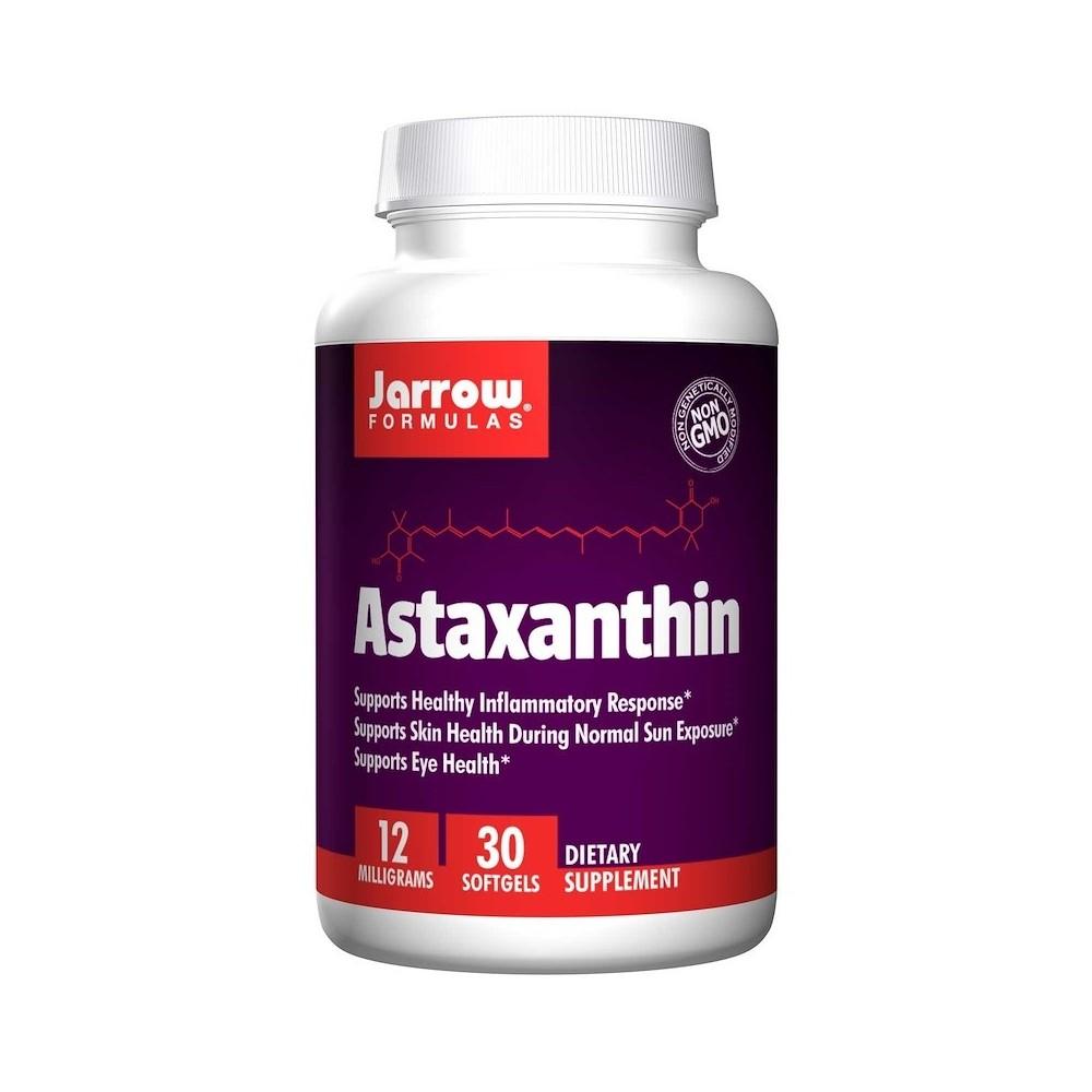 Astaxantina 12 mg  30 cápsulas blandas de Jarrow Formulas