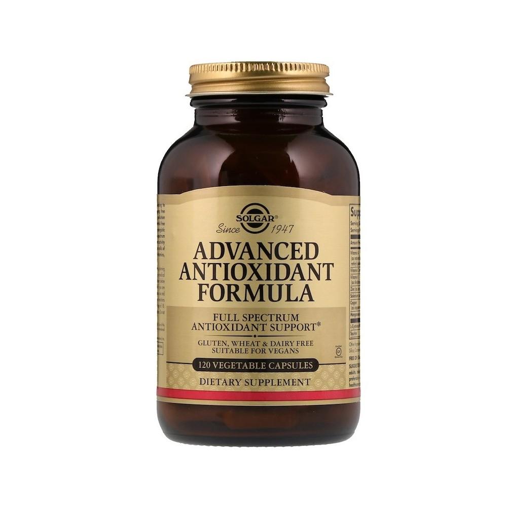 Solgar, Fórmula Antioxidante Avanzada, 120 Cápsulas Vegetales