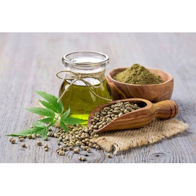 El Aceite de Semilla de Cáñamo CBD 20%, THC 0%