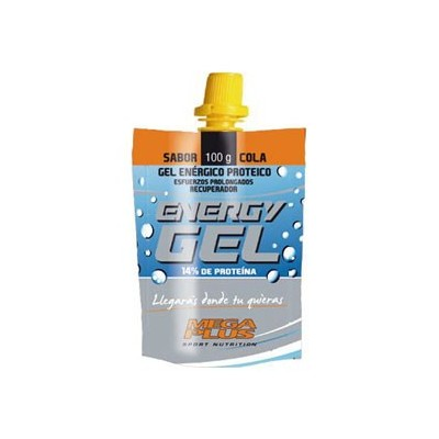 ENERGY GEL PROTEICO MEGA PLUS Megaplus 086046 Suplementos Deportivos (Complementos Alimenticios) salud.bio