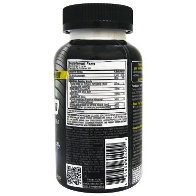 Test HD, Estimulador potente de testosterona, 90 cápsulas de liberación rápida de Muscletech