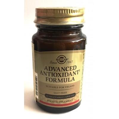 Formula Antioxidante Avanzada, Cápsulas Vegetales de Solgar SOLGAR  Antioxidantes salud.bio