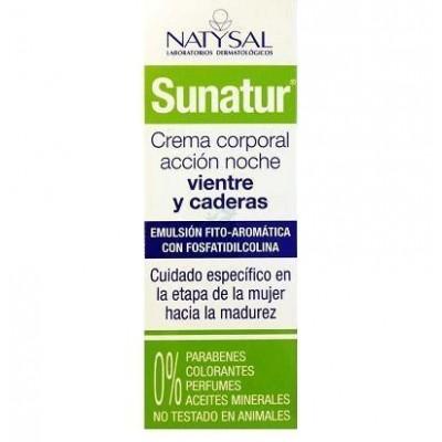 Sanatur Crema corporal accion noche vientre y caderas de Natysal Natysal 13415 Cosmética Natural salud.bio