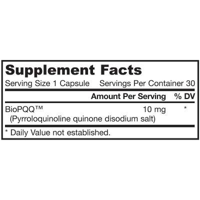 PQQ (pirroloquinolina quinona), de Jarrow Formulas Jarrow Formula  Antioxidantes salud.bio