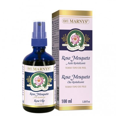 Aceite revitalizante de Rosa Mosqueta 100 ml de Marnys Marnys AP115 Uso tópico salud.bio