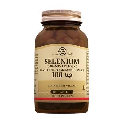 Selenio 100 mcg  de Solgar  100 comprimidos