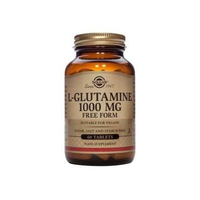 L-Glutamina 1000 mg de Solgar  60 cápsulas SOLGAR 011254 Suplementos Deportivos (Complementos Alimenticios) salud.bio