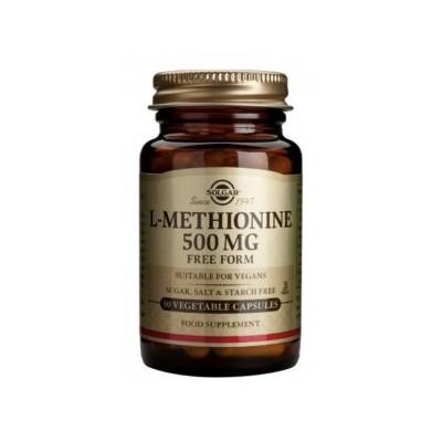 L-Metionina 500 mg de Solgar   30 cápsulas