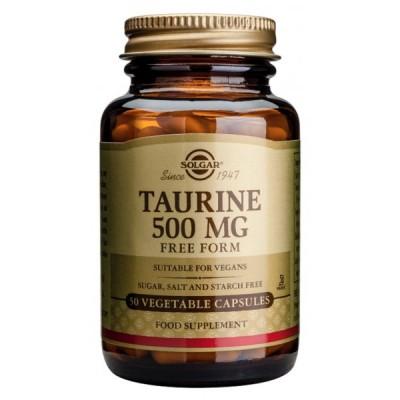 Taurina 500 mg. Solgar