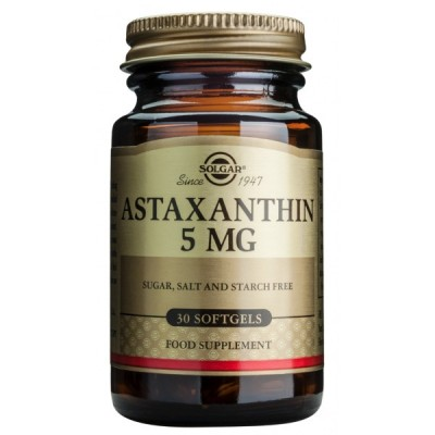Astaxantina 5 mg  de Solgar