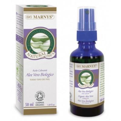 Aceite Calmante de  Aloe Vera Orgánico 50 ml de Marnys