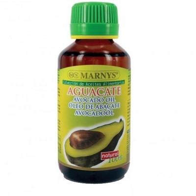 Aceite puro de AGUACATE 125ml Alimentario de MARNYS Marnys AP100 Aceites naturales salud.bio
