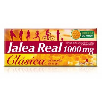 Jalea Real Clásica 1.000mg 20 Ampollas Natysal  Inicio salud.bio