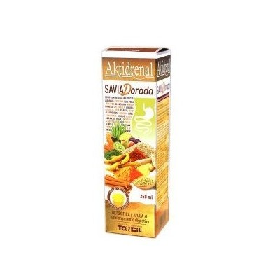 Aktidrenal Savia Dorada 250ml de Tongil Tongil (Estado Puro) I47 Ayudas aparato Digestivo salud.bio
