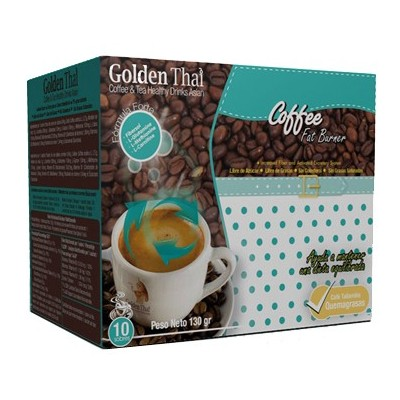 Golden Thai Coffee Quema-Grasas (azul) Golden Thai  Coffe & Tea Healthy Drink Asian  Quemagrasas y similares salud.bio
