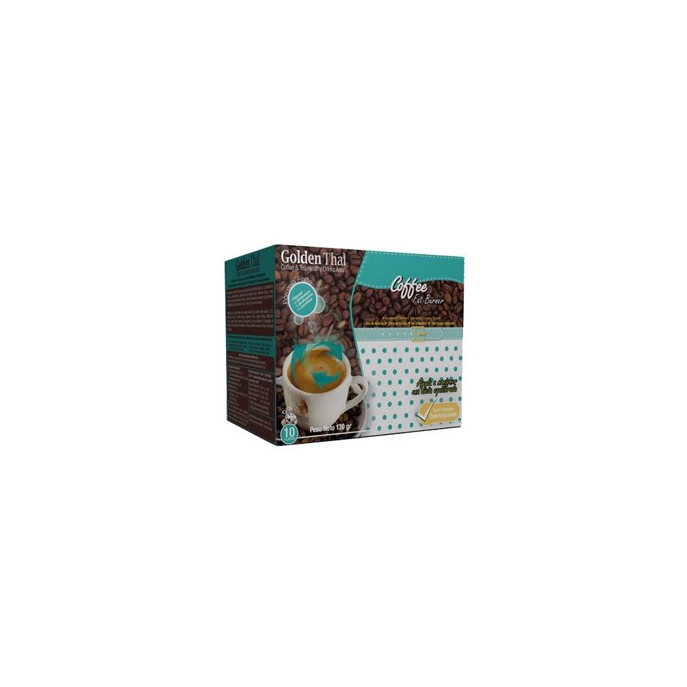 Golden Thai Coffee Quema-Grasas (azul) Golden Thai  Coffe & Tea Healthy Drink Asian  Quemagrasas y similares salud.bio