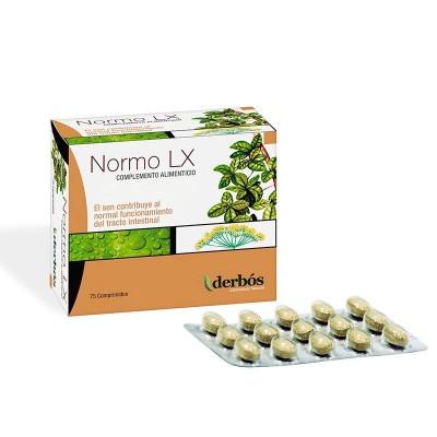 Normo LX 75 comprimidos de derbós derbós laboratorio natural 098 Laxantes salud.bio