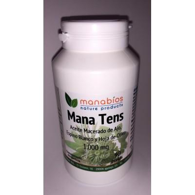 Mana Tens (Ajo+Espino blanco+Hoja de Olivo) de Manabios